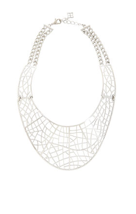 Filigree Plate Necklace