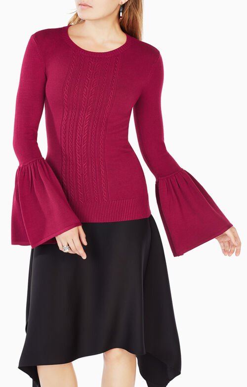 Lianna Flared-Sleeve Top