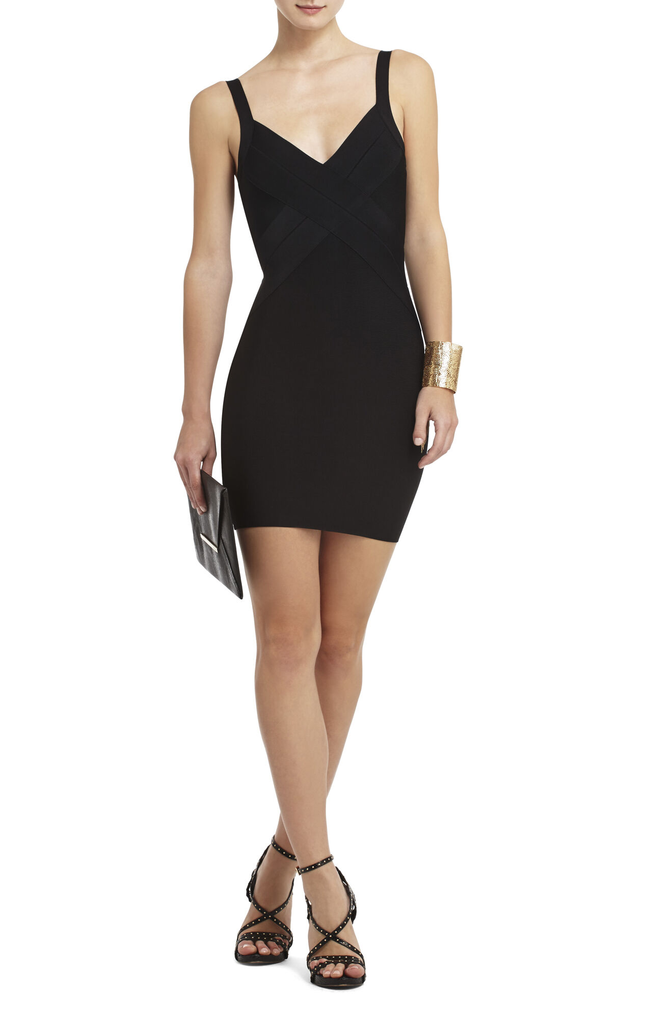 Lia Crisscross Bodice Dress