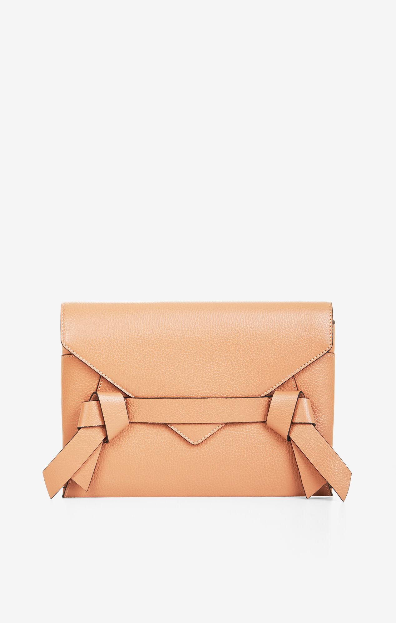Nicoletta Leather Clutch