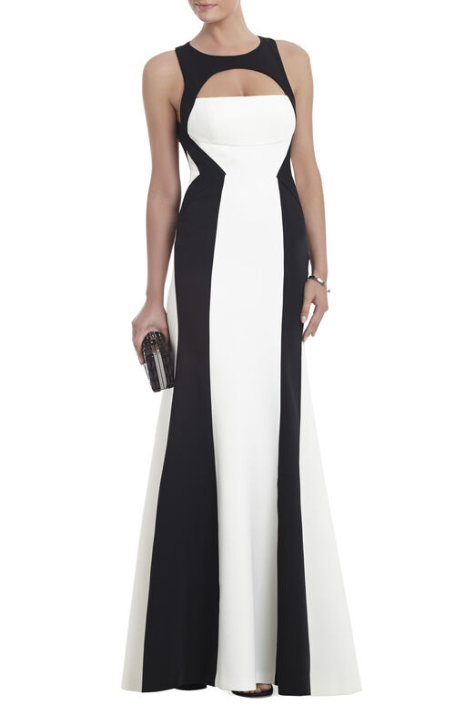 Bethany Open-Back Gown