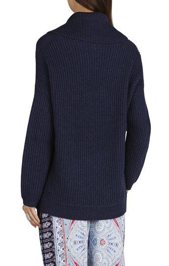 Sandrah Cowl-Neck Oversized Pullover