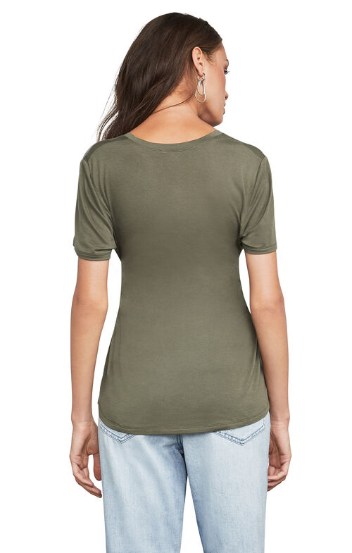 Leah Short-Sleeve Top