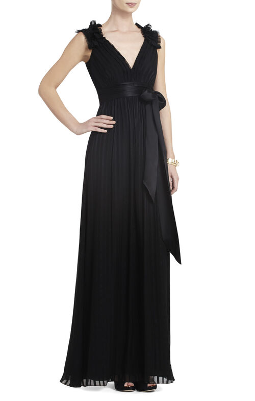 Torey V-Neck Long Dress