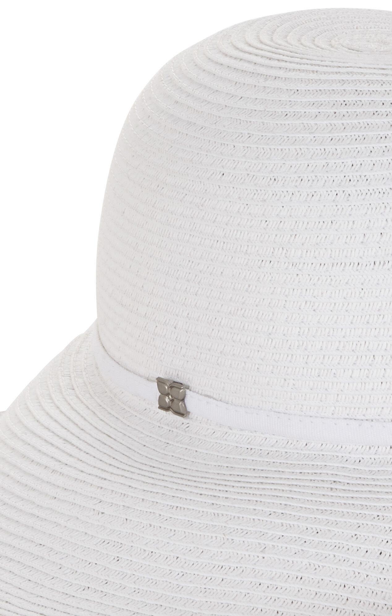 Curved-Brim Hat