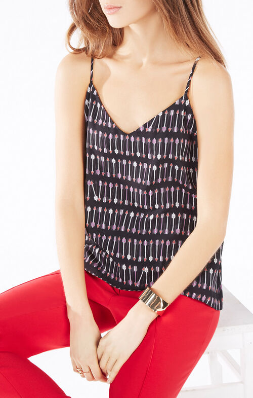 Cora Cupid Stripe Print Tank Top