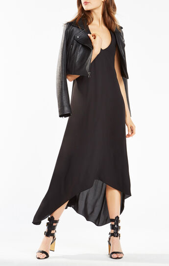 Ariell Open-Back Asymmetrical Dress