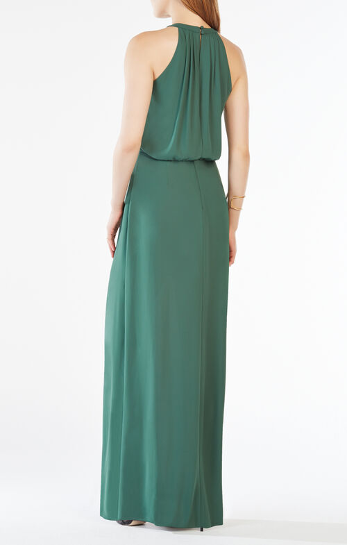 Amanda Plate Collar Gown