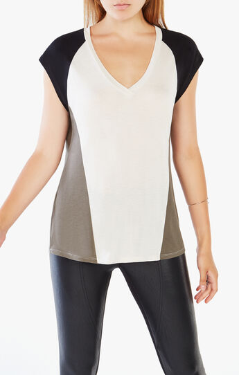 Esmay Color-Blocked Top