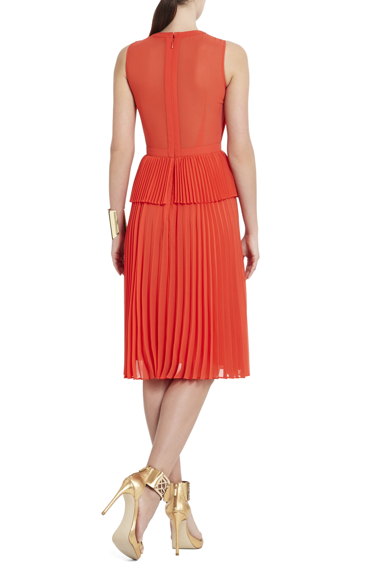 Dewi Sleeveless Pleated Dress