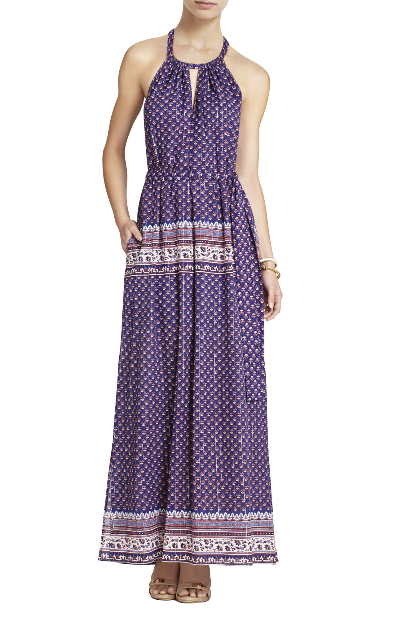 Mia Printed Maxi Dress