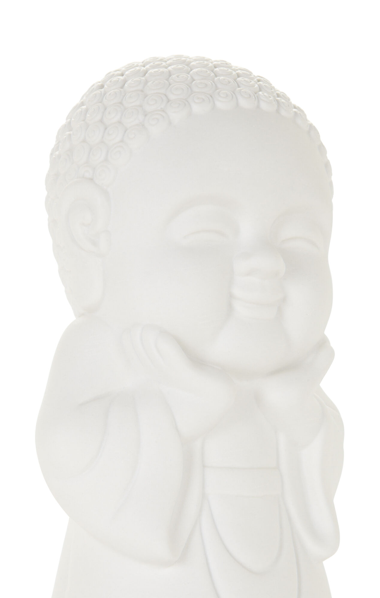 Happy Buddha Ceramic Light