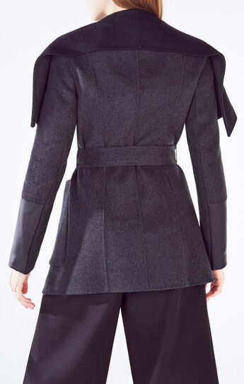 Hunter Open-Front Wool Blend Jacket