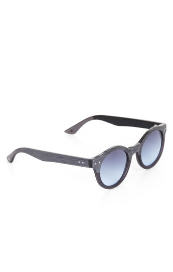 Retro Circle Plastic Sunglasses