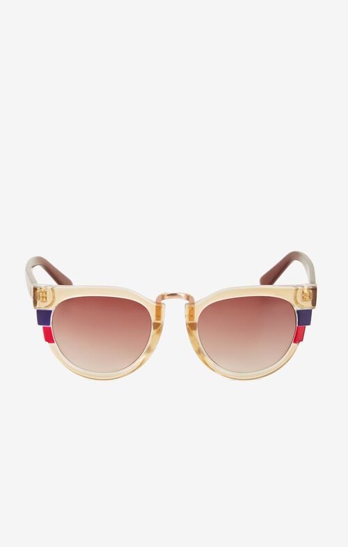 Geometric Stripe Sunglasses