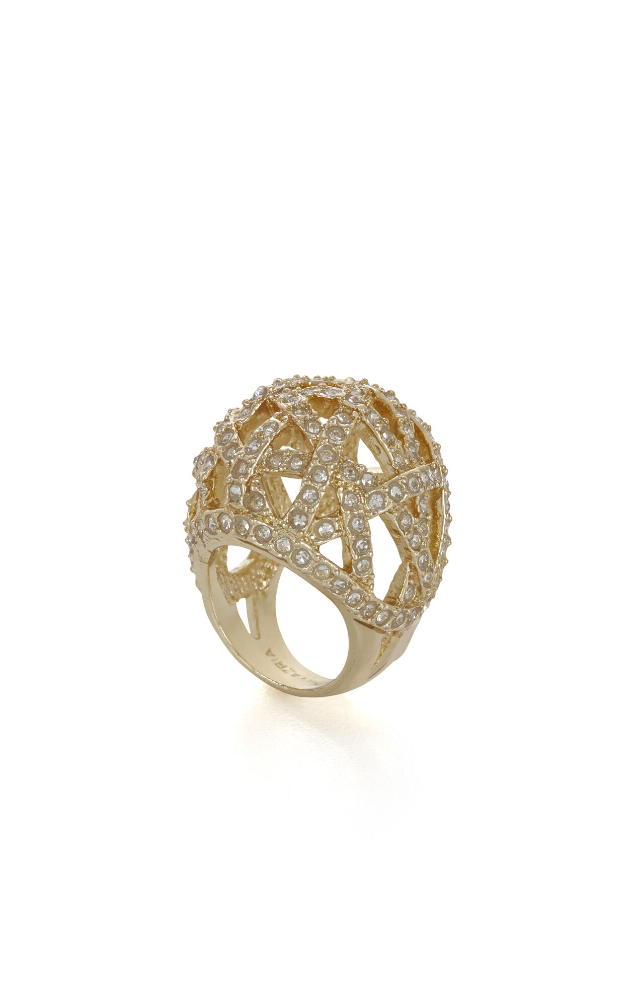 Pave Cage Ring