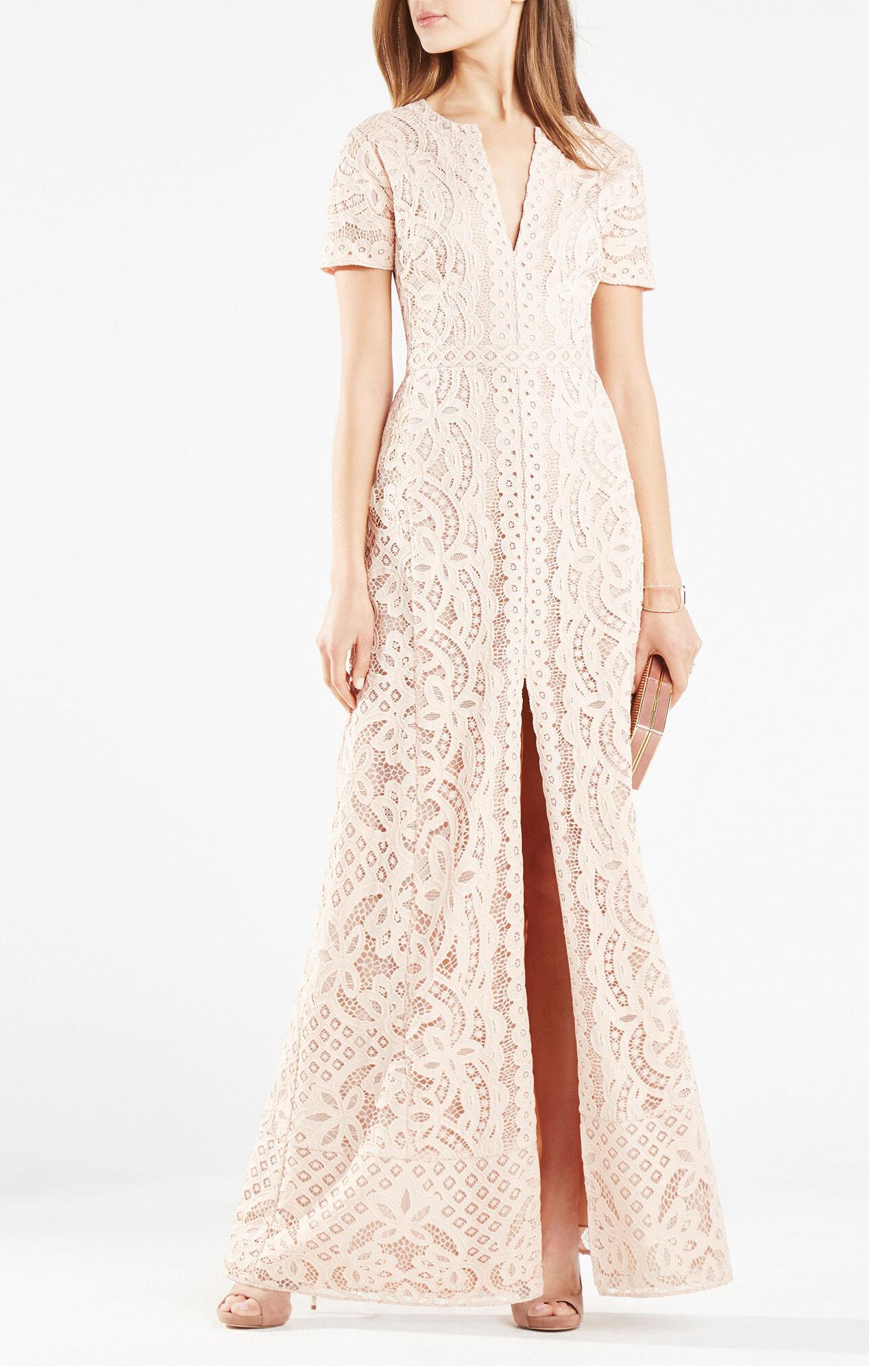 Cailean Floral Lace Gown