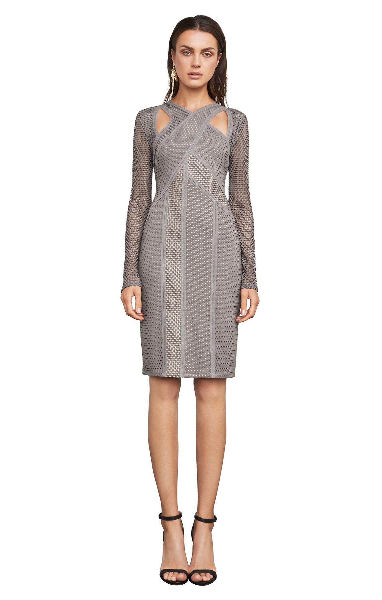 jaylynn mesh patchwork dress