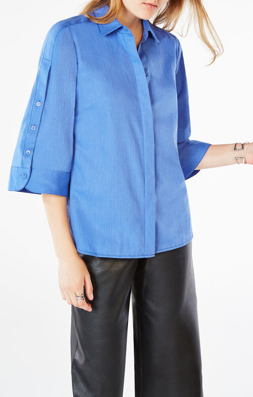 Elysia Button-Up Shirt