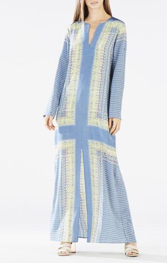 Olivia Printed Kaftan Dress
