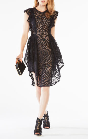 Christiania Ruffle Lace Dress