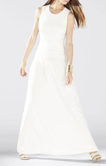 Delyse Pointelle Maxi Dress