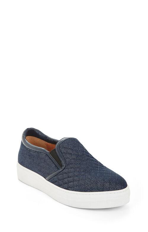 Brentley Quilted Denim Sneaker