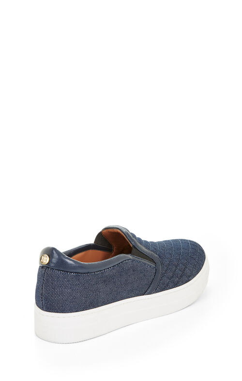 Brentley Quilted Denim Sneaker