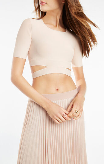 Clarissa Cutout Crop Top