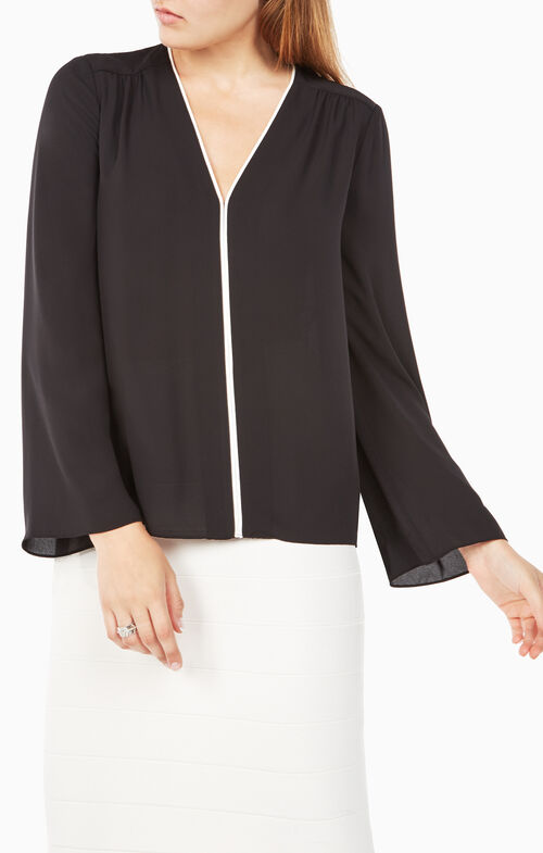 Iliana Bell-Sleeve Top