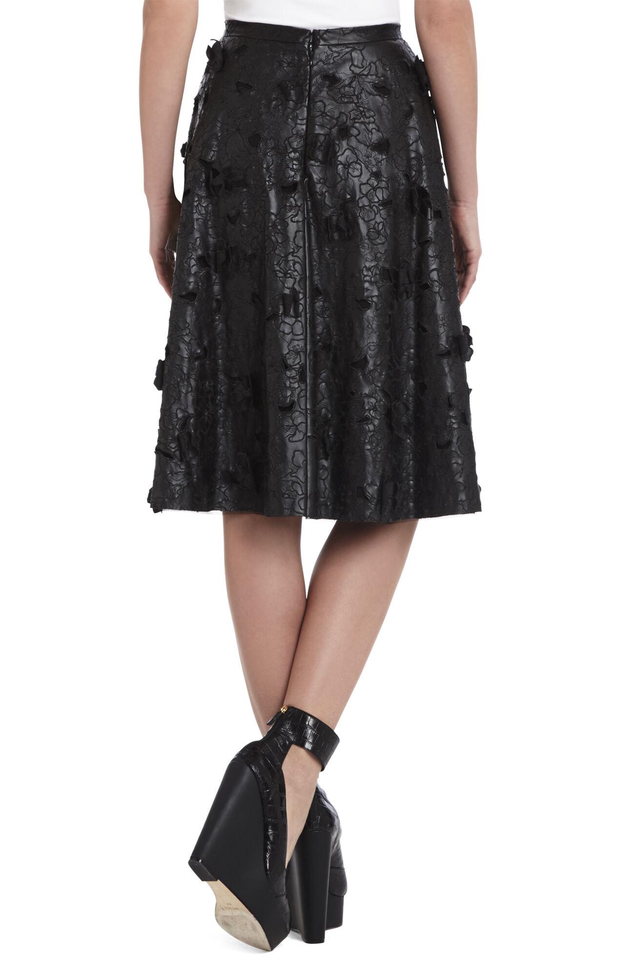 Elsa Flower Cutout A-Line Skirt