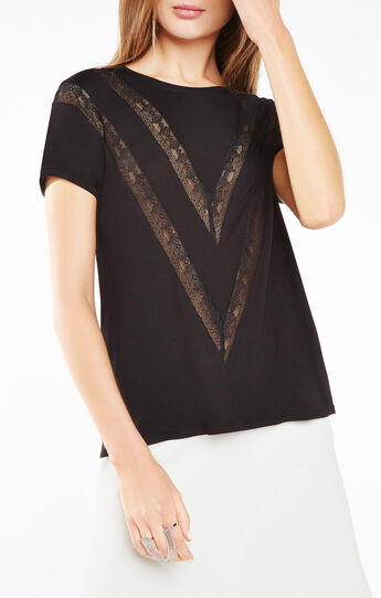 Finli Lace-Trim Top