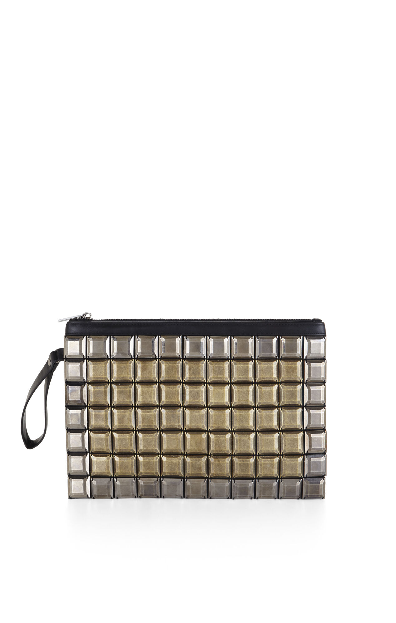Tatiana Beaded Zip-Top Clutch
