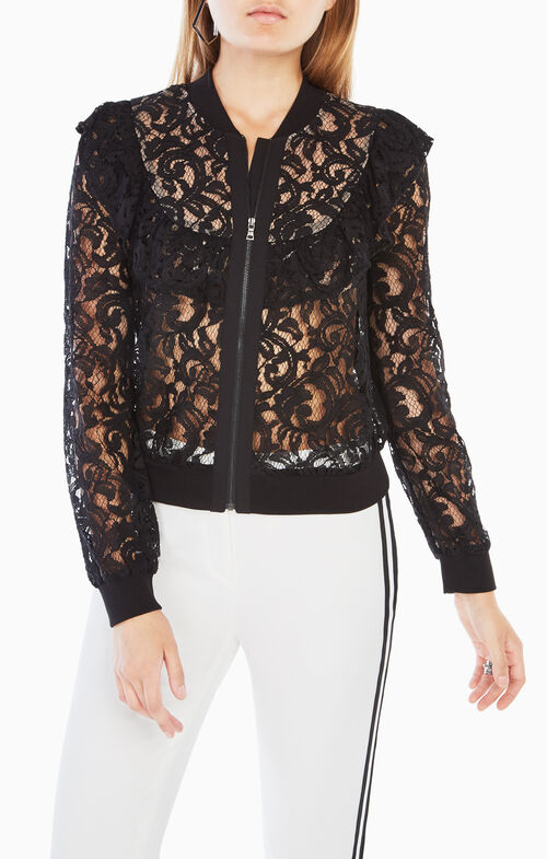 Beverley Ruffled Lace Top