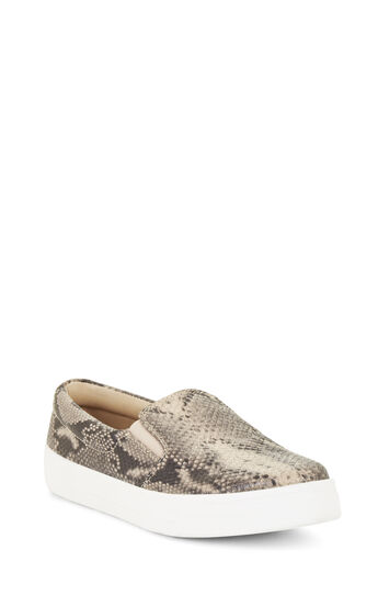 Slip-On Python Flat Sneaker