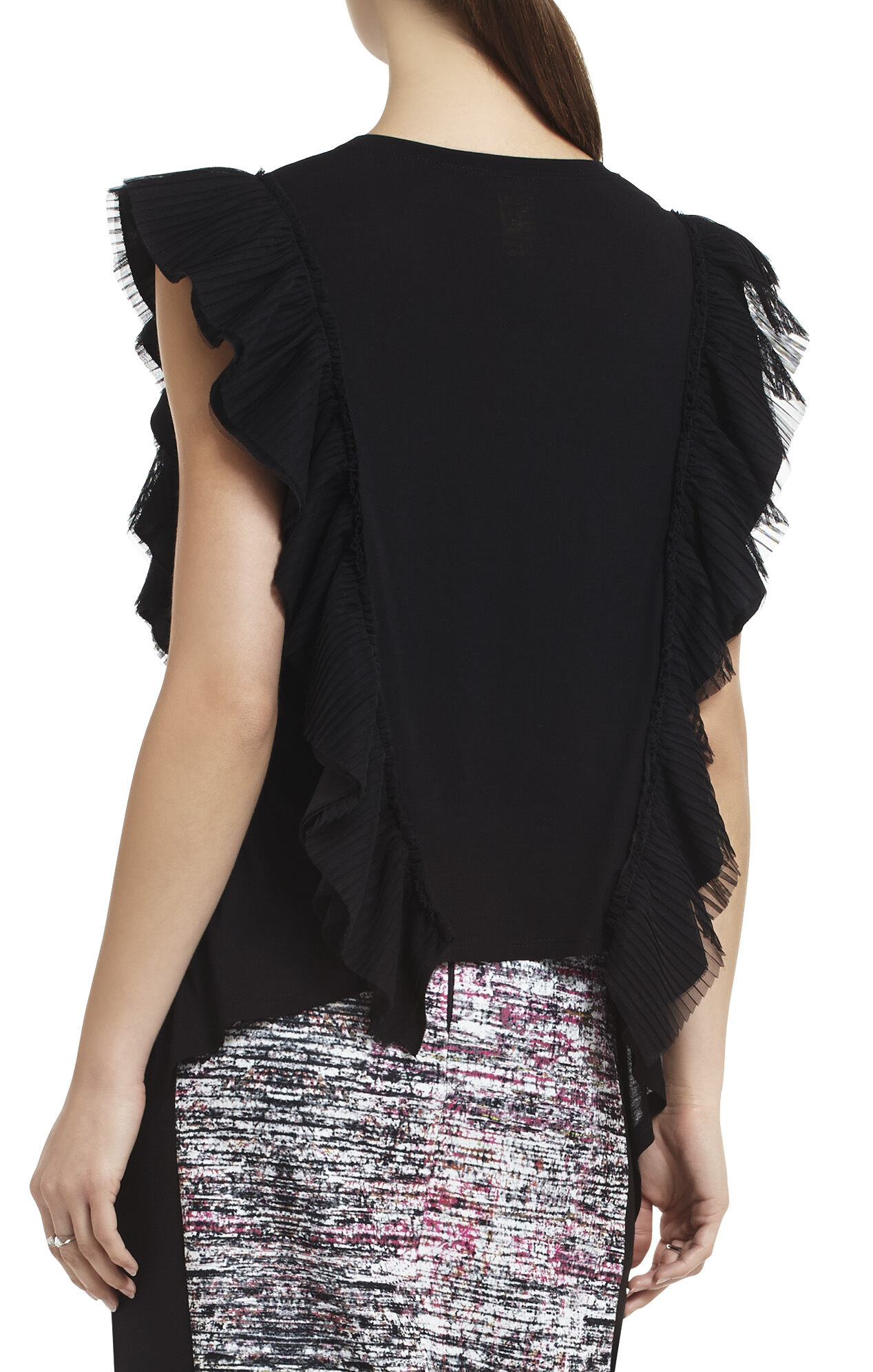 Mandana Sleeveless Ruffle Top