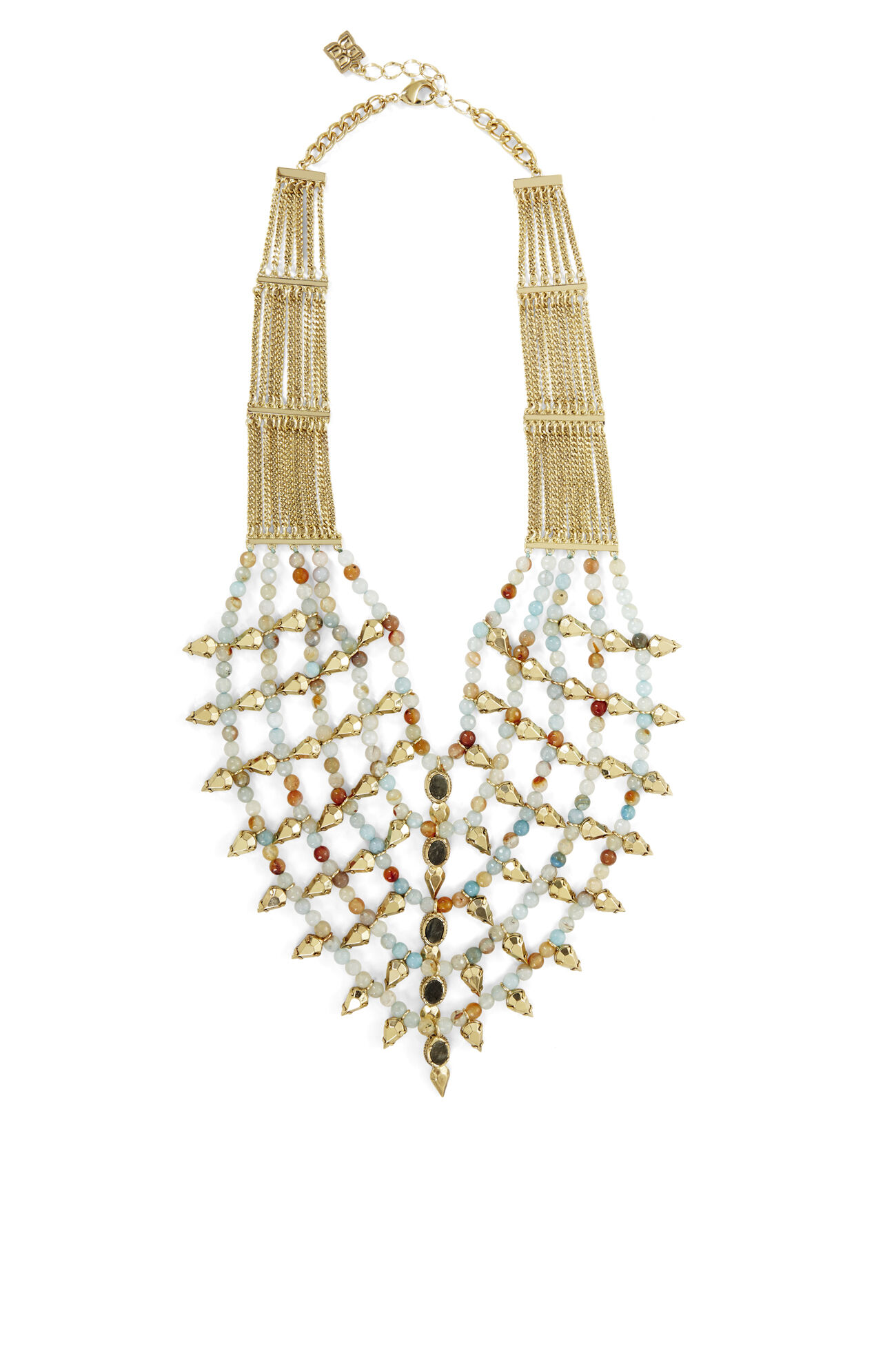 Boho Spiked Bead Necklace