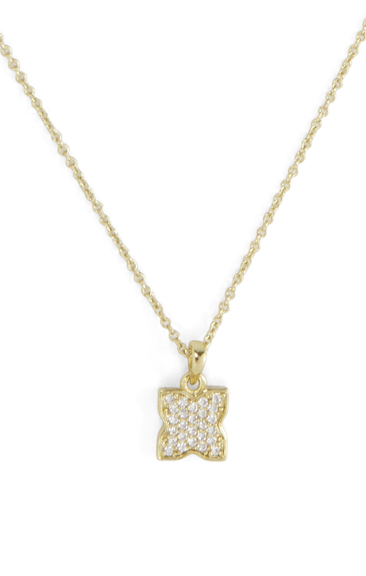 Small Pave Icon Necklace