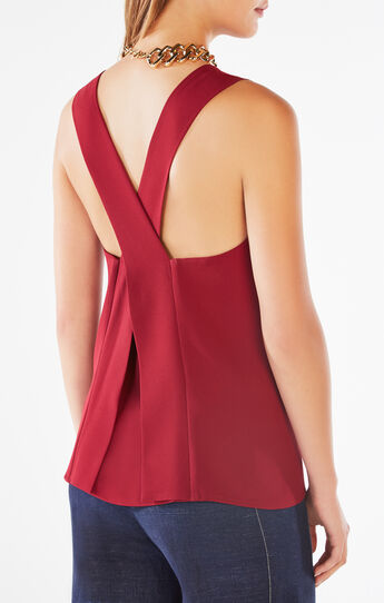 Ellin Cross-Back Top