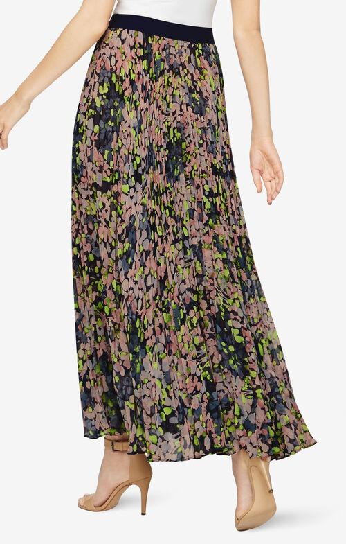 Esten Floral-Print Maxi Skirt