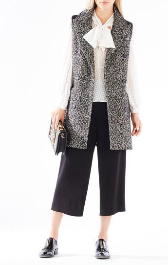 Roxy Double-Breasted Wool-Blend Vest