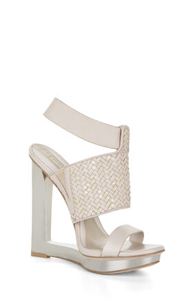 Mave Woven Wedge Day Sandal