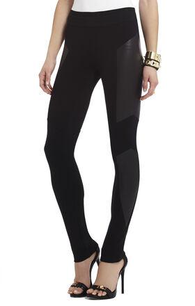 Mari Foiled Paneled Legging