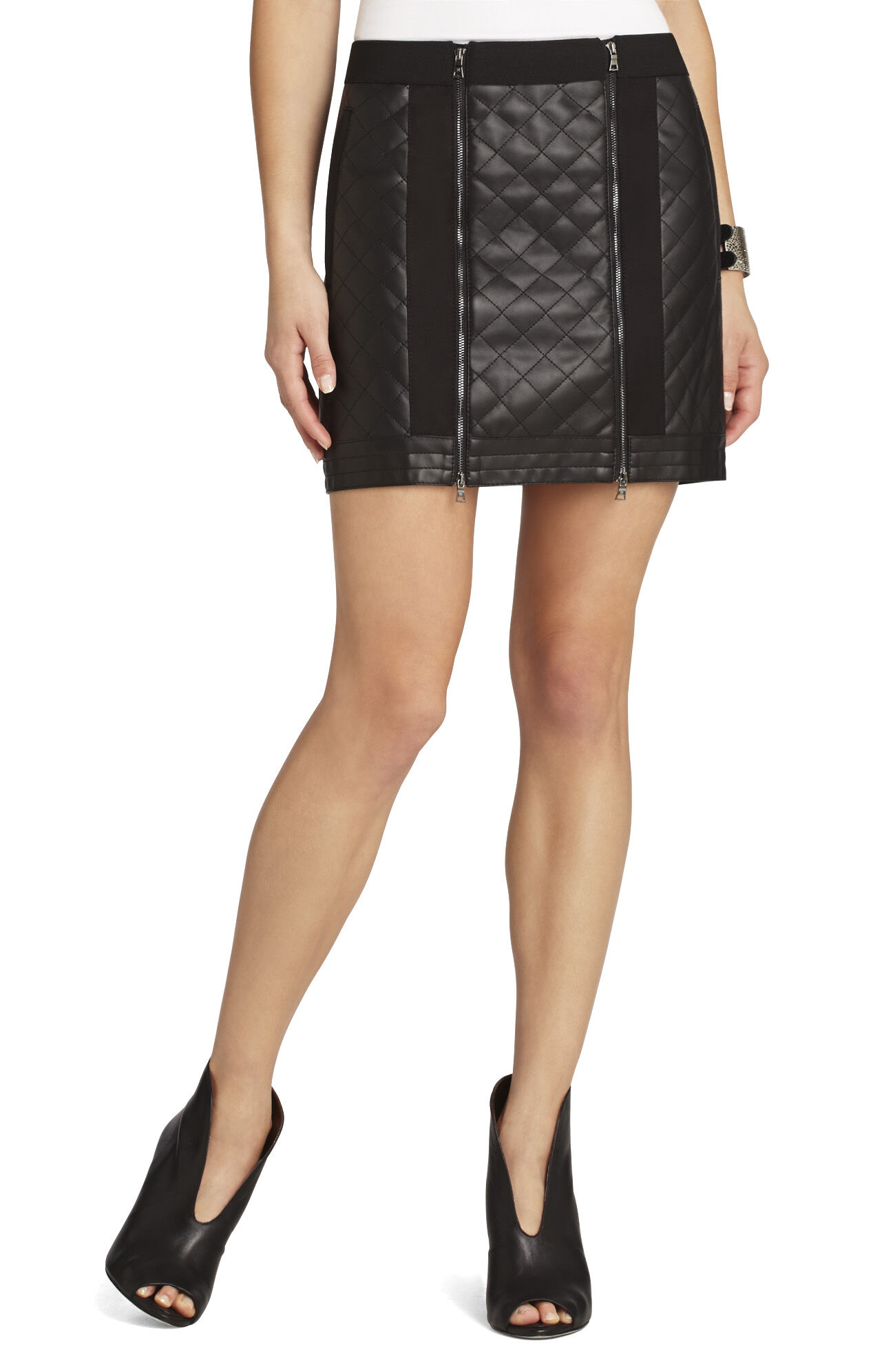 Roxy Quilted Miniskirt