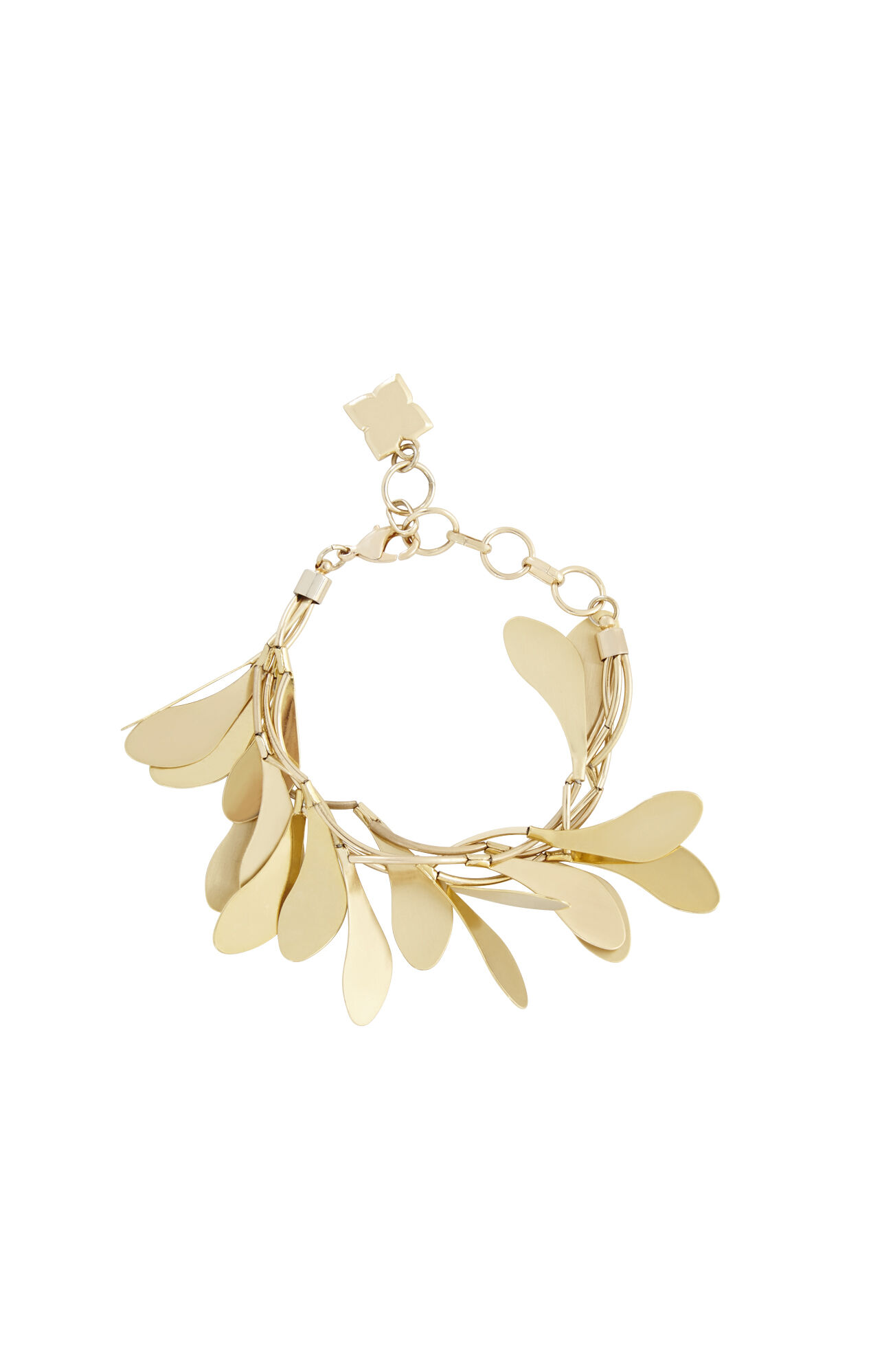 Delicate Leaf Bracelet
