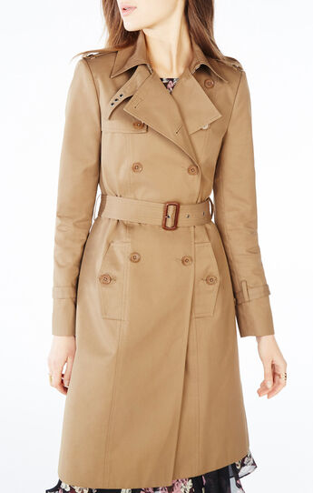 Kingston Double-Breasted Trench Coat