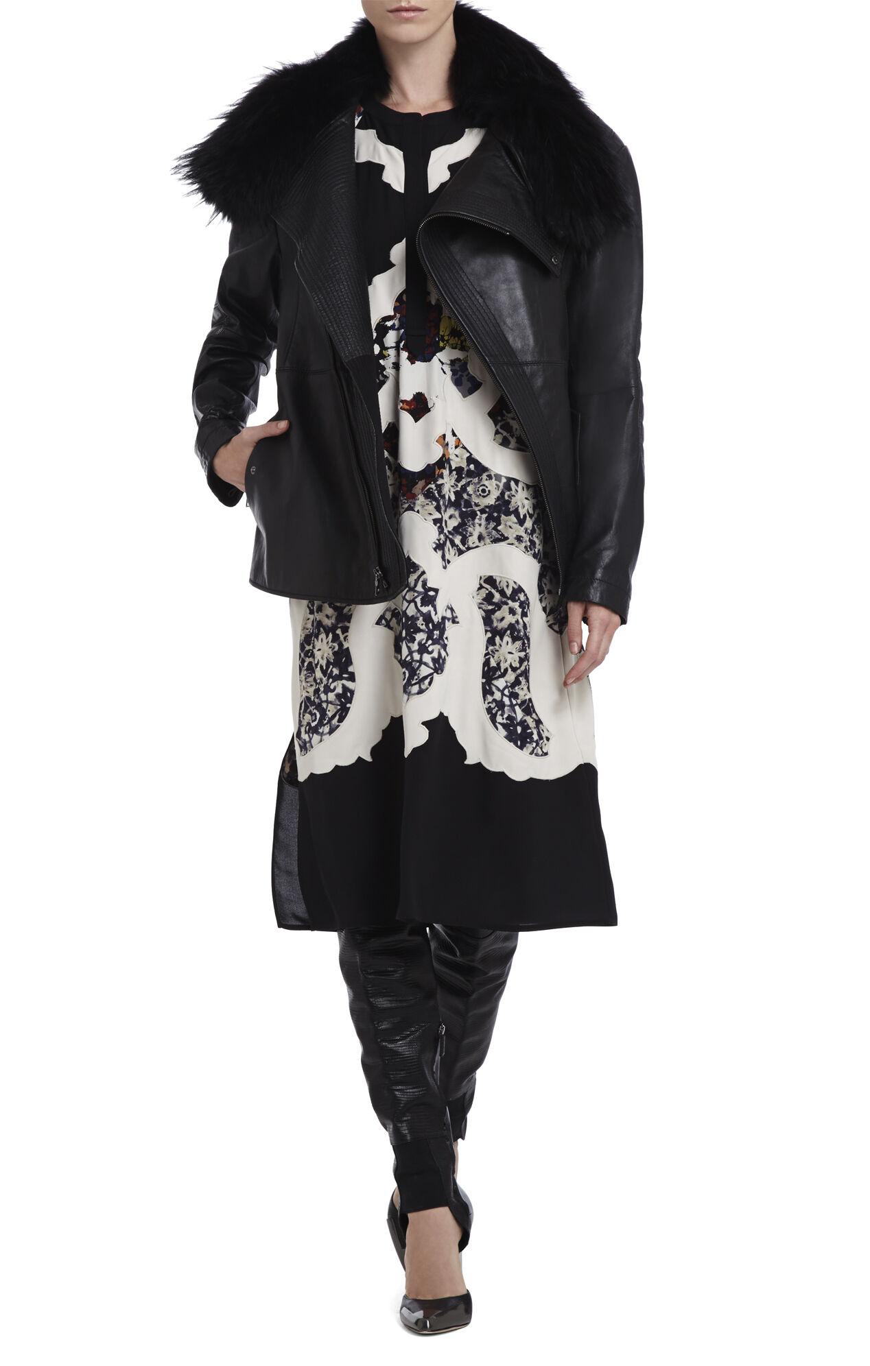 Runway Marcelle Leather Jacket