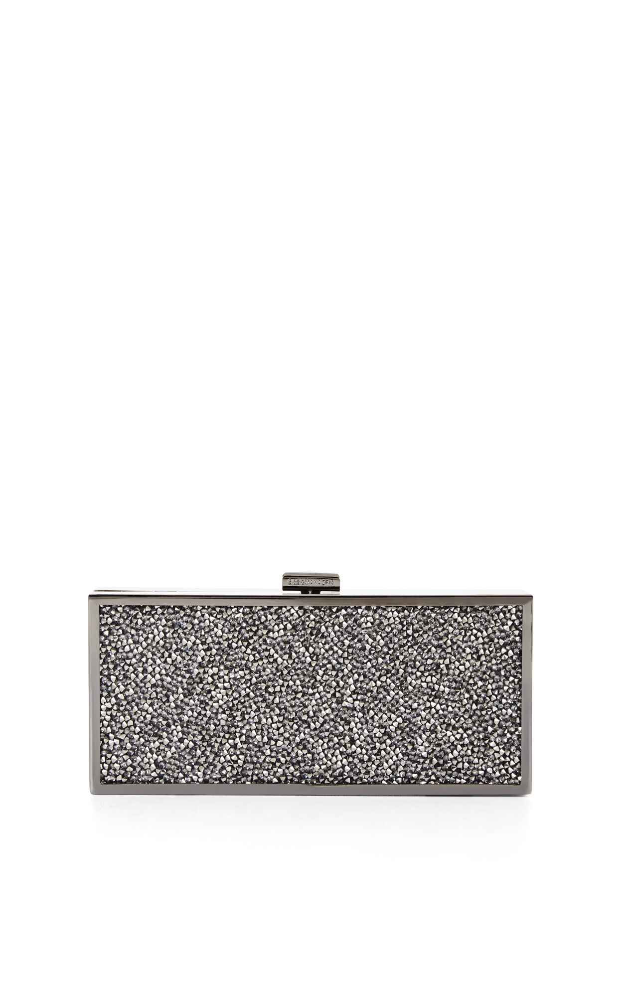 Ariana Rock-Crystal Hard Clutch