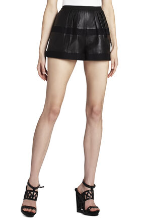Annika Leather Play Shorts