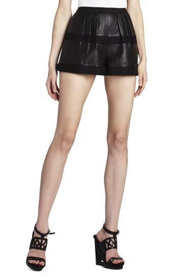 Annika Leather Play Shorts